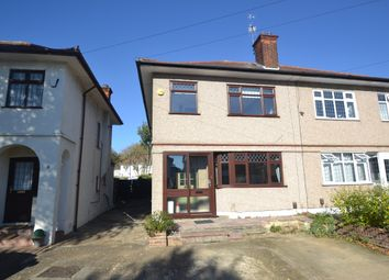 Thumbnail 4 bed semi-detached house for sale in Larchwood Avenue, Collier Row, Romford