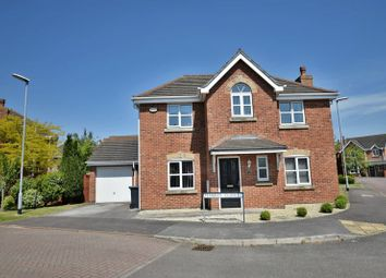 Thumbnail 4 bed detached house for sale in Pembrey Close, Lincoln