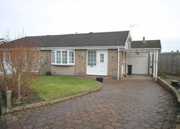 Thumbnail 2 bedroom semi-detached bungalow to rent in Castle Way, Dinnington, Newcastle Upon Tyne