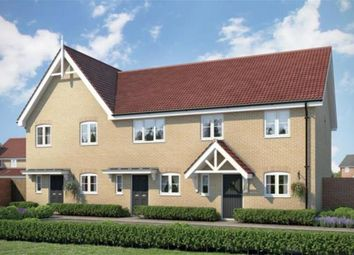 Thumbnail 2 bed end terrace house for sale in Fornham All Saints, Bury St. Edmunds