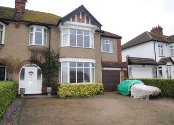 Thumbnail 5 bed semi-detached house for sale in Courtenay Gardens, Upminster