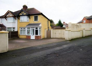 Thumbnail 4 bed semi-detached house for sale in Lambert Road, Fallings Park, Wolverhampton, West Midlands