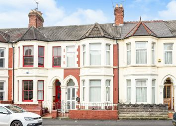 Thumbnail 3 bedroom terraced house for sale in Dogfield Street, Roath, Cardiff