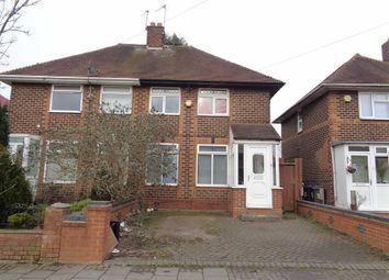 Thumbnail 2 bed semi-detached house for sale in Durley Road, Yardley, Birmingham