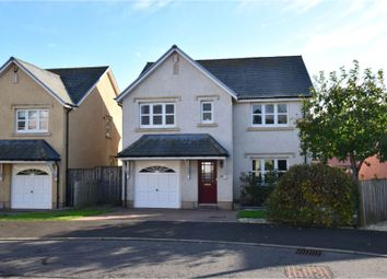 Thumbnail 4 bed detached house for sale in West Myrescroft, Ancrum