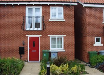 Thumbnail 1 bed terraced house to rent in Parsons Close, Fernwood, Newark
