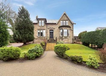 Thumbnail 4 bed detached house for sale in Glen Road, Shotts, North Lanarkshire