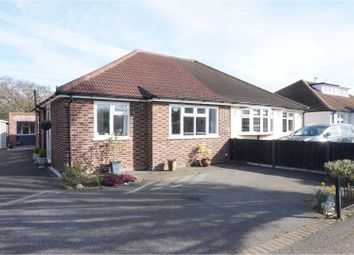 Thumbnail 2 bedroom semi-detached bungalow for sale in Fairholme Gardens, Upminster