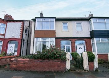 Thumbnail 3 bed semi-detached house for sale in Leasowe Road, Wallasey