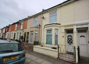 Thumbnail 3 bedroom terraced house for sale in Jubilee Road, Southsea