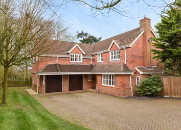 Thumbnail 5 bed detached house for sale in Montague Close, Wokingham