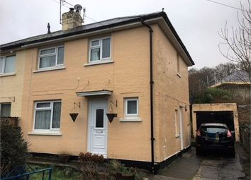 Thumbnail 3 bedroom semi-detached house to rent in Manor Road, Bradley Valley, Newton Abbot, Devon.