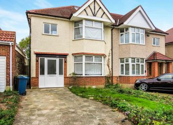 Thumbnail 3 bed semi-detached house to rent in Hillview Gardens, Pinner, North Harrow, Harrow