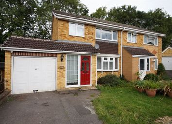 Thumbnail 3 bed semi-detached house for sale in Hollydale Close, Reading, Berkshire