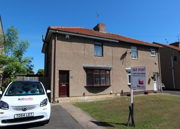 Thumbnail 3 bed semi-detached house to rent in Park Crescent, Shiremoor, Newcastle Upon Tyne