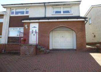 Thumbnail 3 bedroom semi-detached house for sale in Kirkton Crescent, Coatbridge