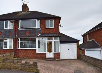 Thumbnail 3 bed semi-detached house for sale in Englesea Avenue, Weston Coyney, Stoke-On-Trent