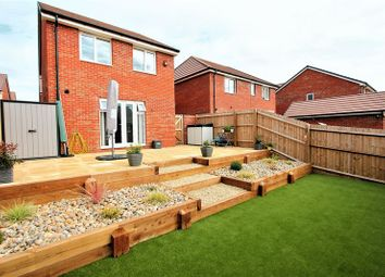 Thumbnail 3 bed detached house for sale in Greenmeadow Way, Rhoose, Barry