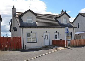 Thumbnail 1 bed semi-detached house for sale in Braden Glen, Newtownabbey, County Antrim