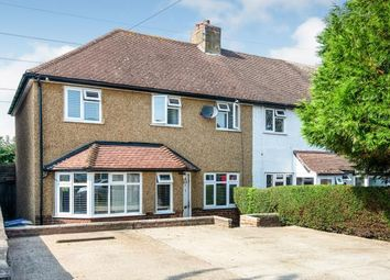 Thumbnail 4 bed end terrace house for sale in Ashby Avenue, Chessington, Surrey, .