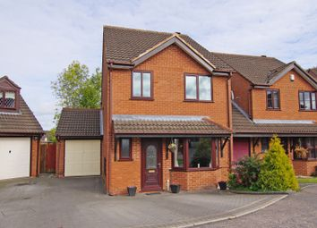 Thumbnail 4 bed link-detached house for sale in Dellow Grove, Alvechurch