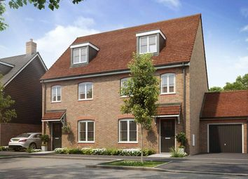 Thumbnail 3 bed semi-detached house for sale in The Croften G, Harwell