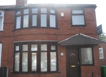 Thumbnail 7 bed semi-detached house to rent in Brentbridge Road, Manchester