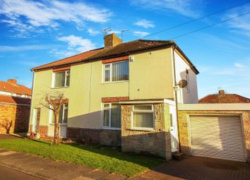 Thumbnail 2 bed semi-detached house for sale in Sinclair Gardens, Seaton Delaval, Whitley Bay