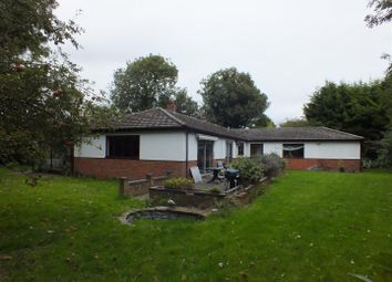 Thumbnail 4 bed detached bungalow for sale in High Street, Bassingbourn, Royston
