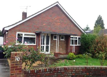Thumbnail 2 bed bungalow to rent in Welbury Avenue, Luton