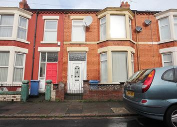 Thumbnail 4 bed terraced house to rent in Ashdale Road, Walton, Liverpool