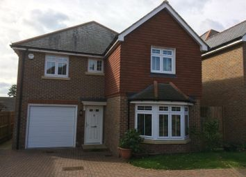 Thumbnail 4 bed detached house for sale in Toppesfield Park, Maidstone