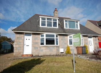 Thumbnail 2 bedroom semi-detached house to rent in Morningside Avenue, Aberdeen, 7Nu
