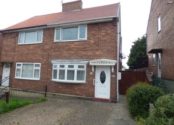 Thumbnail 2 bedroom semi-detached house for sale in Liddell Terrace, Wheatley Hill, Durham