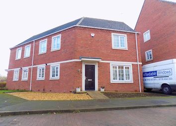 Thumbnail 4 bed semi-detached house for sale in Donnington Court, Dudley, Dudley