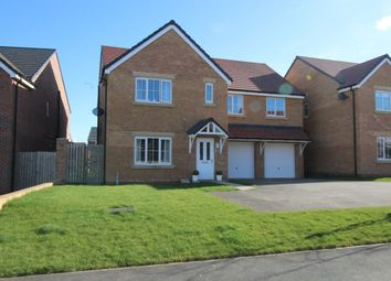Thumbnail 6 bed detached house for sale in Slaley Drive, Ashington