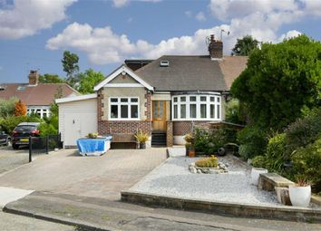 Thumbnail 4 bed semi-detached bungalow for sale in Bridle Close, Ewell Court, Surrey