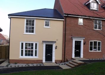 Thumbnail 3 bed end terrace house to rent in Abbotts Grange, Church Hill, Saxmundham