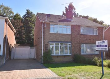 Thumbnail 3 bed semi-detached house for sale in Prince Andrew Way, Ascot`