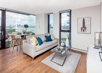 Thumbnail 2 bed flat for sale in The Waterman Block, Barge Walk, Greenwich
