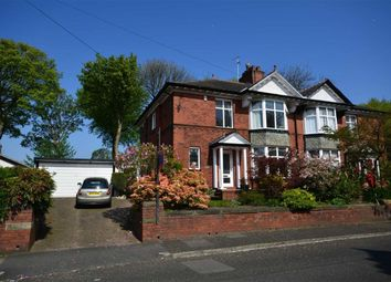 Thumbnail 4 bed semi-detached house for sale in Glebelands Road, Prestwich Manchester