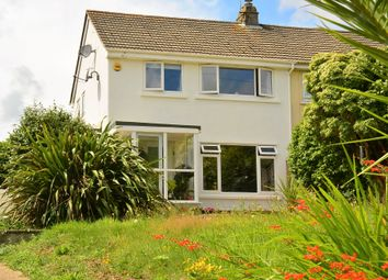 Thumbnail 3 bed semi-detached house to rent in Mongleath Road, Falmouth, Cornwall