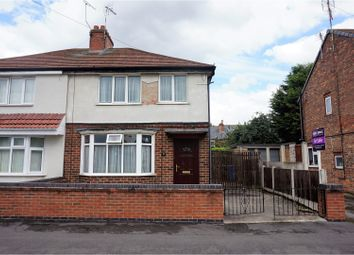 Thumbnail 3 bed semi-detached house for sale in Tennyson Street, Derby