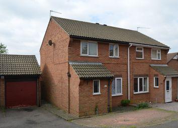 Thumbnail 3 bedroom semi-detached house for sale in Hintlesham Drive, Felixstowe