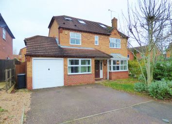 Thumbnail 5 bedroom detached house for sale in Wickery Dene, Wootton, Northampton