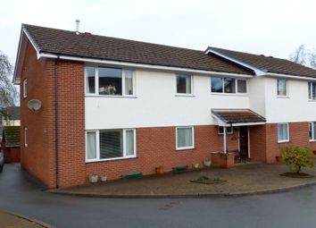 Thumbnail 2 bed flat for sale in The Close, Lant Avenue, Llandrindod Wells