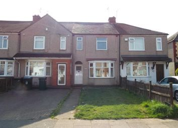 Thumbnail 3 bedroom terraced house for sale in Warden Road, Radford, Coventry, West Midlands