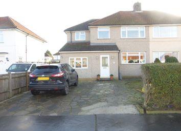 Thumbnail 5 bedroom semi-detached house for sale in Aldrich Crescent, New Addington, Croydon