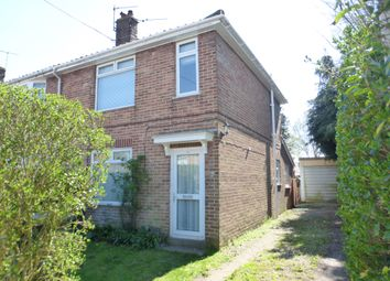 Thumbnail 3 bed semi-detached house for sale in Earlham Grove, Norwich