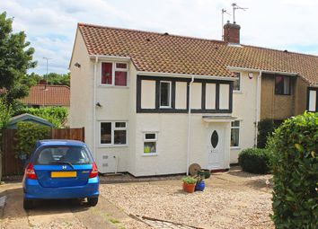 Thumbnail 3 bed semi-detached house for sale in Arnold Miller Road, Norwich